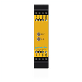 The unit is designed for single or twin channel control as a contact expansion